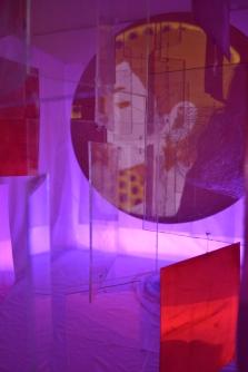 Shadow facing the light,Multi media instalation,2015
